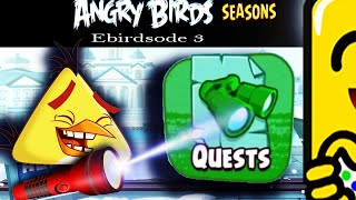 Angry Birds Seasons: QUEST Hunt (Commentary) #SuperflyGaming