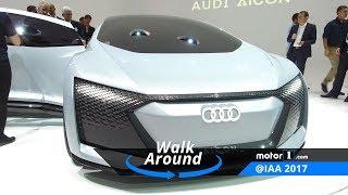 Audi Aicon Concept: 2017 Frankfurt Motor Show