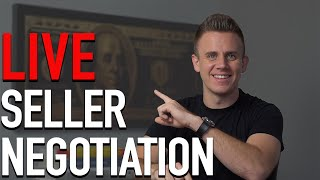 Wholesaling Real Estate | Negotiating a Wholesale Deal (LIVE)