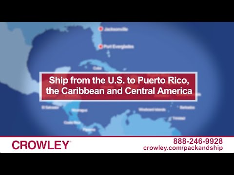 Home - Crowley In Compeive Retail Map Of San Juan Puerto Rico on