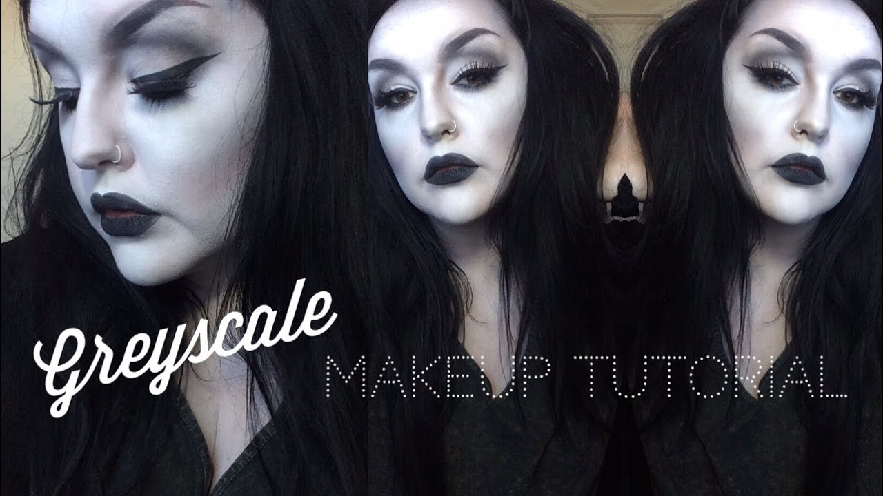 100+ [ Black And White Makeup Ideas For Halloween ] | 50 Scary ...