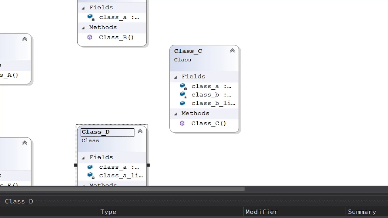 Show Class Associations (C++/C#) in Visual Studio 2019 ...