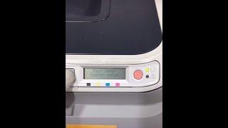 HP CLJ 2600n double image