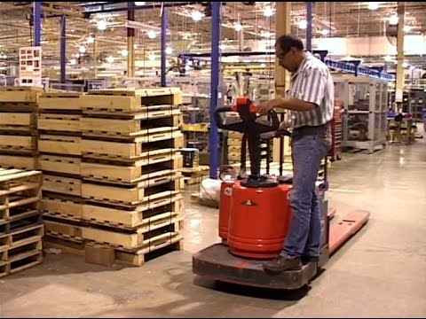 42996961d1 Operating Electric Pallet Jacks Safely - Training Video - YouTube
