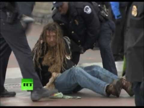 Occupy Congress video: Police arrest OWS protesters