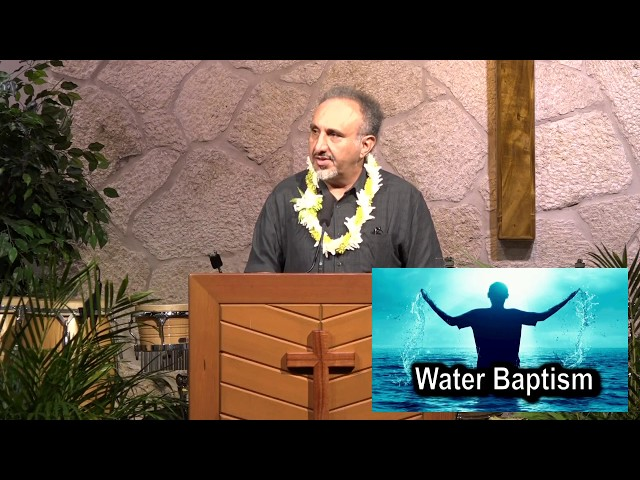 Water Baptism – Matthew 28:19-20