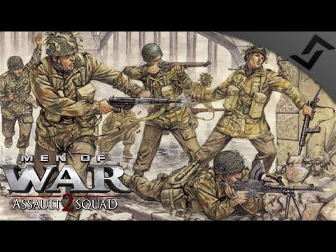 4v4 Banzai Chain Nuke - Robz Mod - Men of War: Assault Squad 2 Multiplayer Gameplay