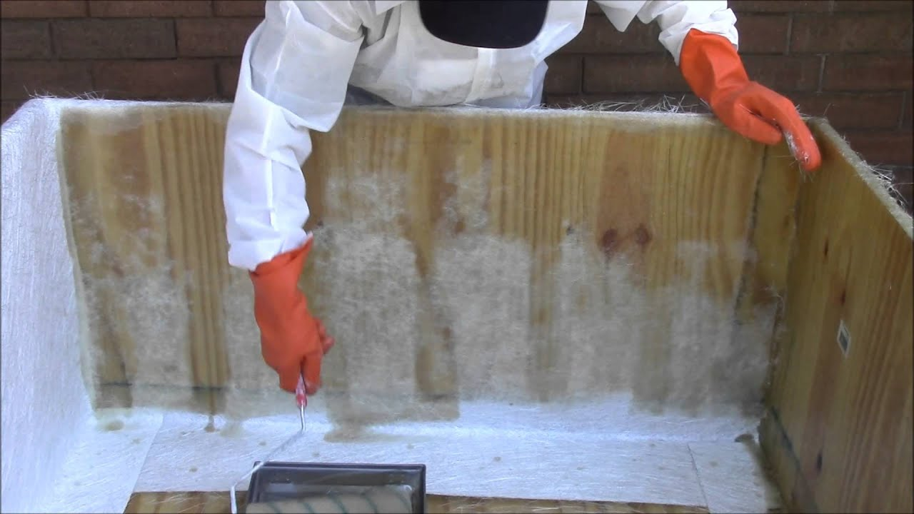 How To Waterproof Anything With Fiberglass Youtube