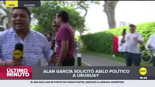 """Valle Riestra justificó el pedido de asilo de Alan García: """"Es un perseguido político"""""""