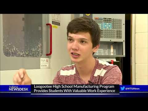 Loogootee High School Implements Machine Tool Program