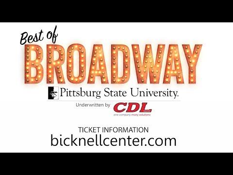 2017-2018 Best of Broadway - Pittsburg State University