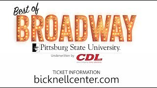 2017-2018 Best of Broadway - Pittsburg State University
