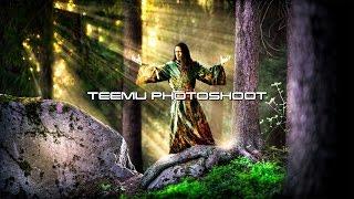 Wintersun - The Forest Seasons Photoshoot - Teemu (Spring)