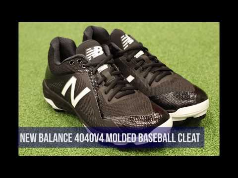 Molded Baseball Cleat Review