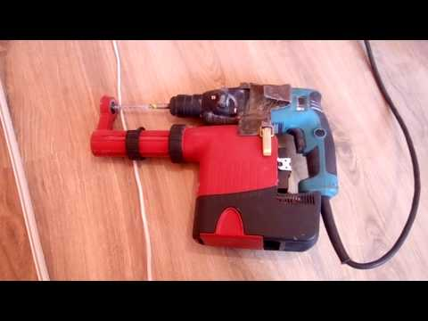 Перфоратор MAKITA с пылесборником HILTI. MAKITA Rotary Hammer With Dust Collector, HILTI