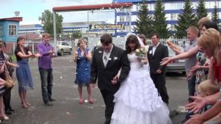 Гарлем Шейк фрагмент из клипа по свадьбе   Гореявчевы Роман и Аня 06 07 2013)
