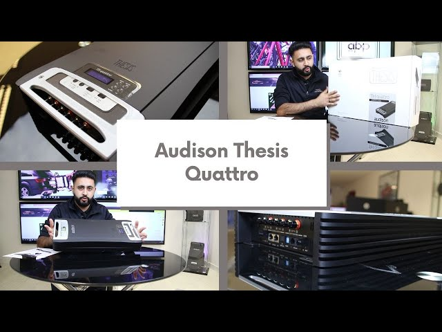 Thesis Quattro Amplifier Unboxing | Cambridge Car Audio