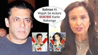 Jiah Khan Mother Accuses Salman Khan For Increasing SUlClDES In Bollywood | RIP Sushant Singh Rajput