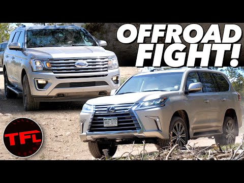 Ford Expedition Vs Lexus LX: I Take Two Big SUVs Off-Road And Pick A Winner