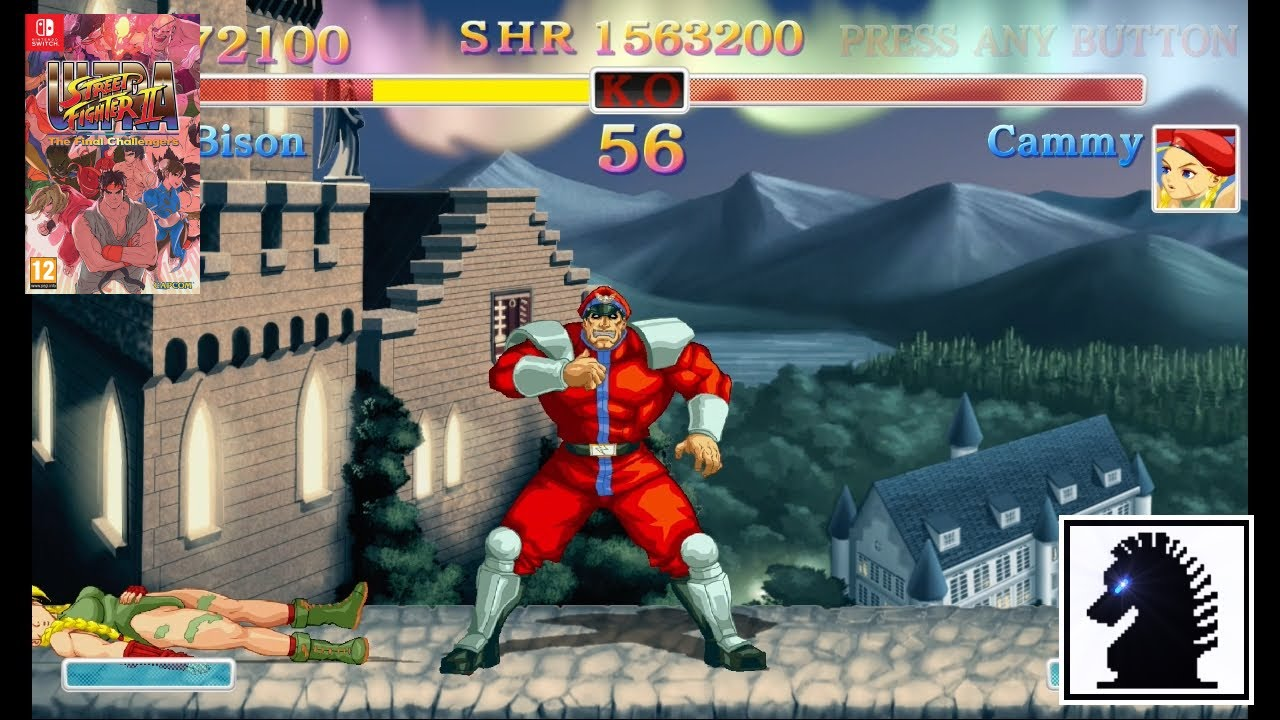 NS Ultra Street Fighter II: The Final Challengers - M. Bison - YouTube