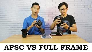 BELAJAR FOTO #1 Perbedaan Sensor Kamera APSC dan FULL FRAME