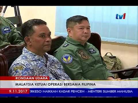 TRILATERAL AIR PETROL -  MALAYSIA KETUAI OPERASI BERSAMA FILIPINA [9 NOV 2017]