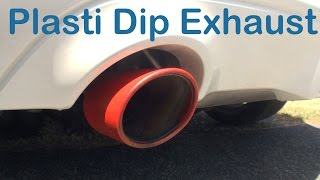 Plasti Dip on Exhaust Tips - Does it hold?
