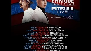 #EnriquePitbullTour 2017 Pitbull and Enrique Iglesias Summer Tour 2017 mp3