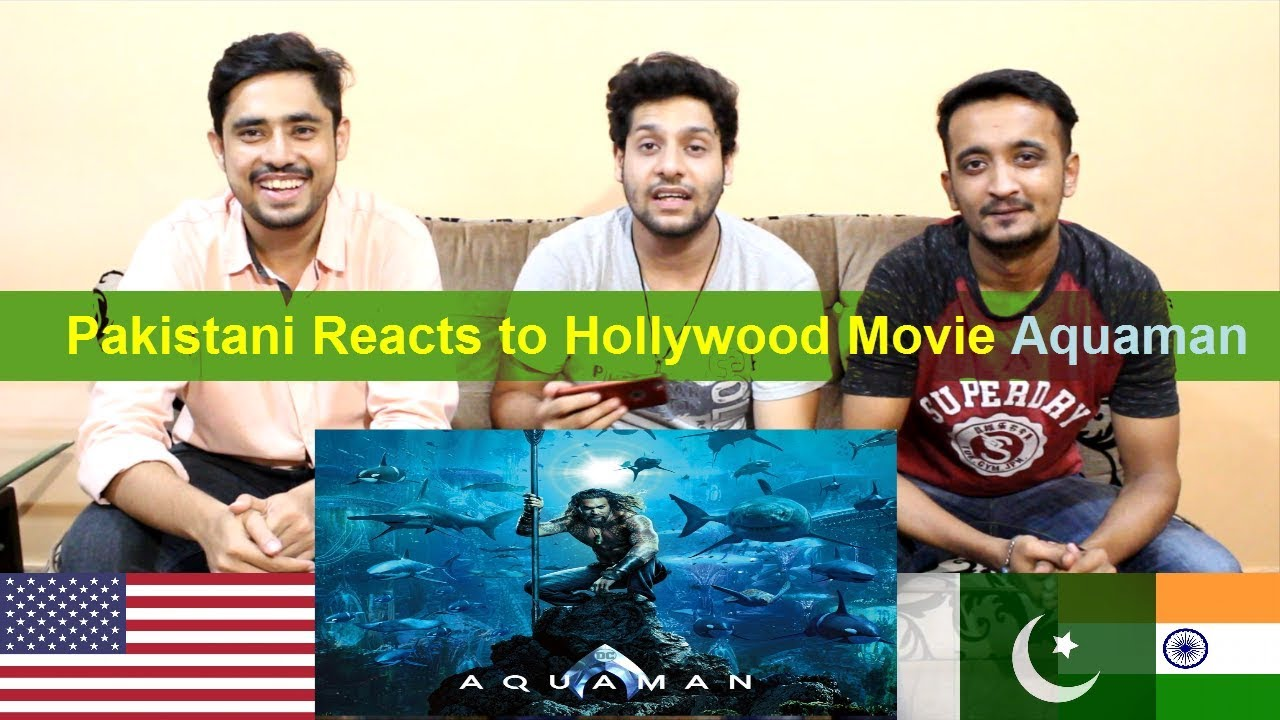 Pakistani Reacts to Hollywood Movie Aquaman - Official Trailer | DC Comics