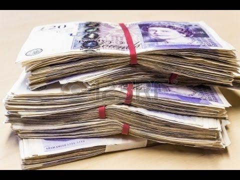 Quick Cash - Money Flows To You When You Watch This -  British Pounds ***Must See ***NEW***