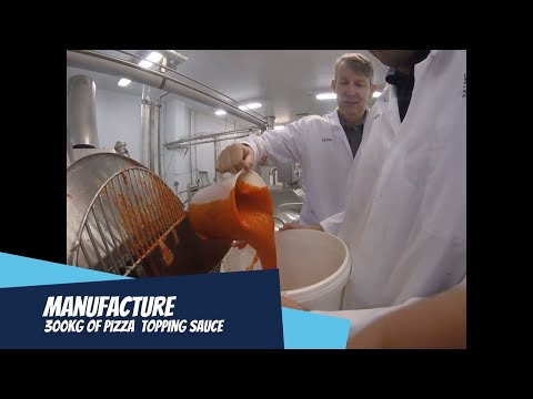 Steam Infusion Pizza Sauce Tomato Topping Manufacture OAL