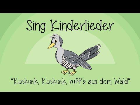 Kuckuck, Kuckuck, ruft's aus dem Wald - Kinderlieder zum Mitsingen | Sing Kinderlieder