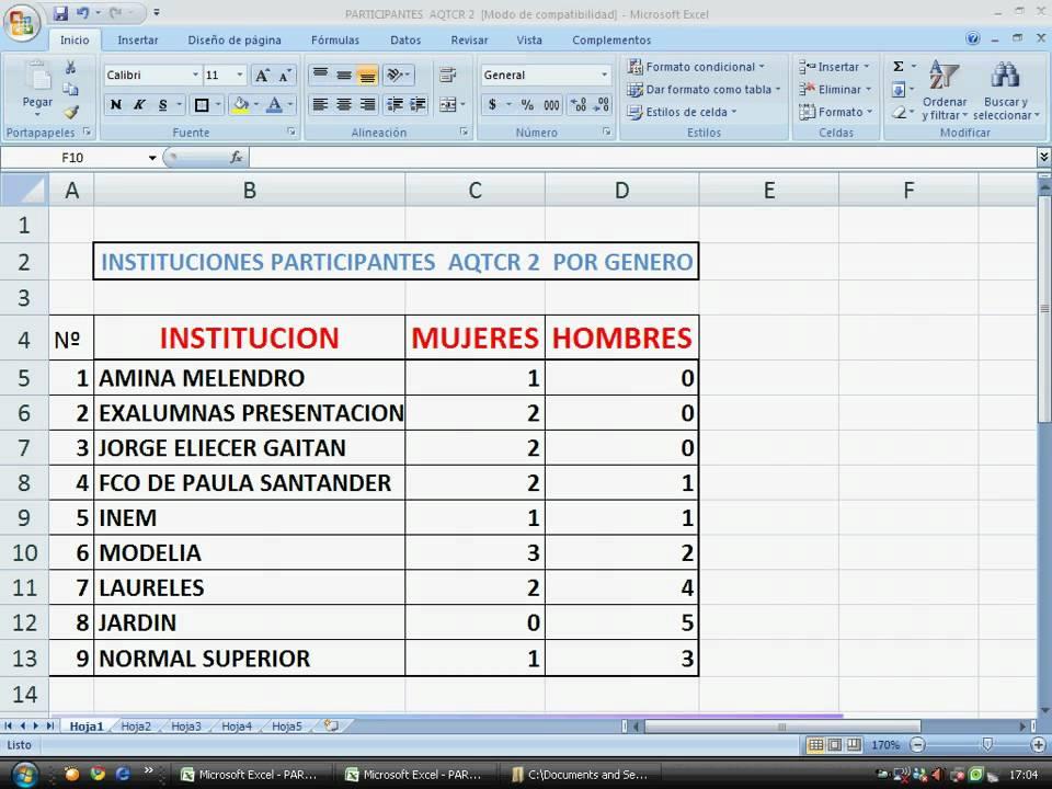 Cómo insertar una nueva hoja de trabajo en Excel. AQTCR N2 2009 ...