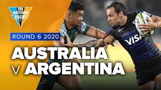 Tri Nations 2020 | Australia v Argentina - Rd 6 Highlights