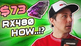 $73 RX 480!? HOW...?! - August