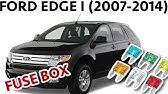 Fuse Box Location And Diagrams Ford Edge 2011 2014 Youtube