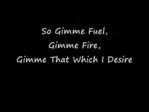Fuel Lyrics by Metallica