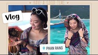 Vlog// Khám phá bãi biển hoang sơ Bình Tiên - Phan Rang 🏖 🏝 //  Phương về Việt Nam