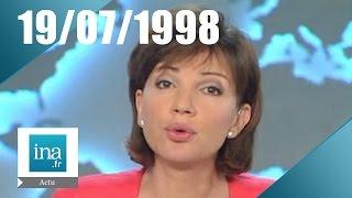13h France 2 du 19 juillet 1998 - le corps d'Erik Tabarly retrouvé | Archive INA