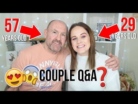 COUPLE Q&A *AGE GAP RELATIONSHIP & HATERS* VLOGMAS DAY 12