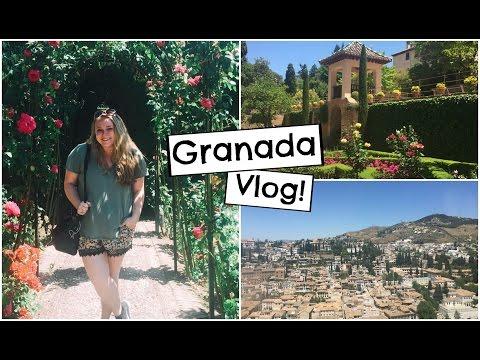 Exploring The Alhambra! | Granada, Spain Travel Vlog