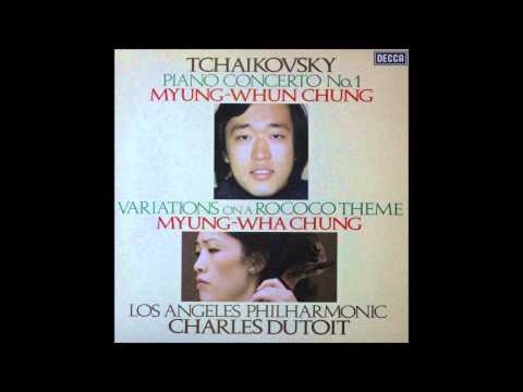 TCHAIKOVSKY, Piano concerto no 1, 1stmov,  MYUNG WHUN CHUNG, Piano