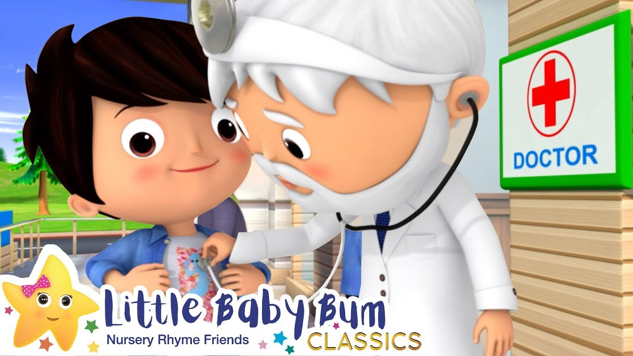 Going To The Doctors Song - Nursery Rhymes & Kids Songs - Little Baby Bum | ABCs and 123s
