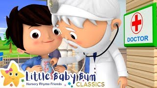 Going To The Doctors Song - Nursery Rhymes & Kids Songs - Learn with Little Baby Bum | ABCs and 123s