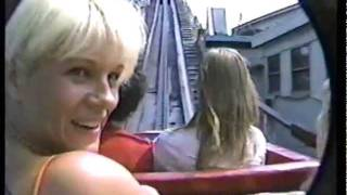 A Ride on the Cyclone Roller Coaster at Coney Island in 1987