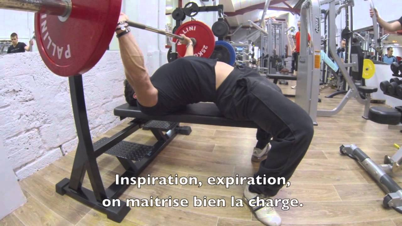 Le d velopp couch by fred mompo youtube - Progresser developpe couche ...