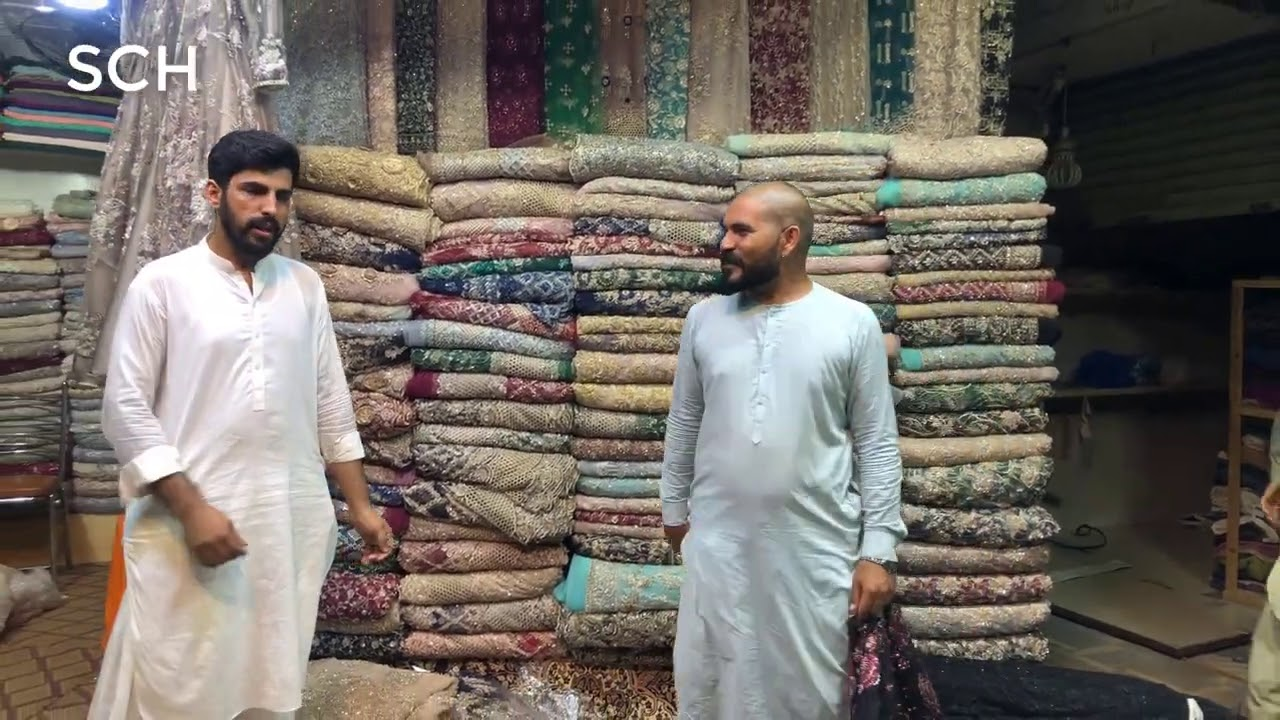 New Dubai Designs | Net Fabrics & Handwork Cutdana