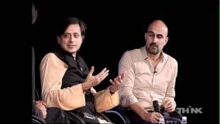 Hari Kunzru & Shashi Tharoor at THiNK 2011