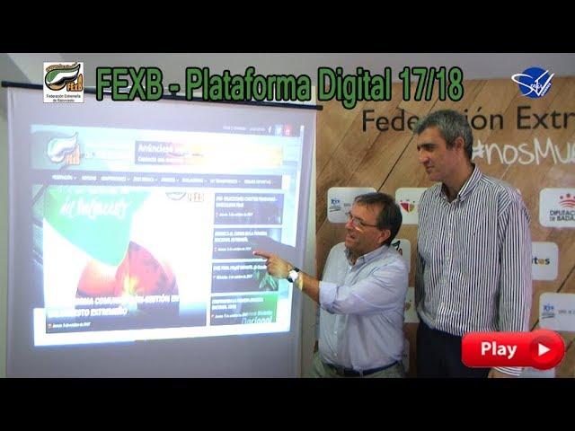 FExB: Nueva Plataforma Digital