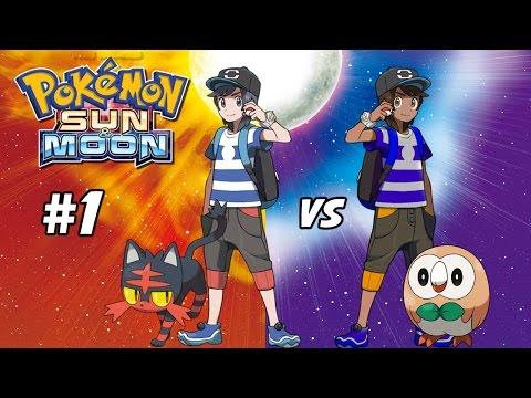 Pokemon Sun and Moon Two-Player Walkthrough #1
